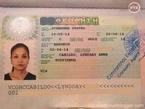 Declaration Of Trust Greece Visa