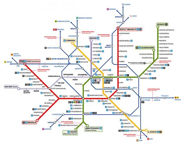ATM-Milan-Metro-Map